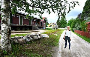Anni Järvelä uskoo, että Maunon makasiinista tulee Kaustisen kansanmusiikkijuhlille suosittu, tunnelmallinen esiintymispaikka. ESKO KESKI-VÄHÄLÄ