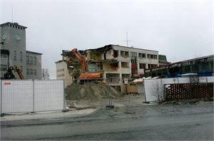 Atomon korttelin rakennuksista on kohta enää muistot jäljellä.