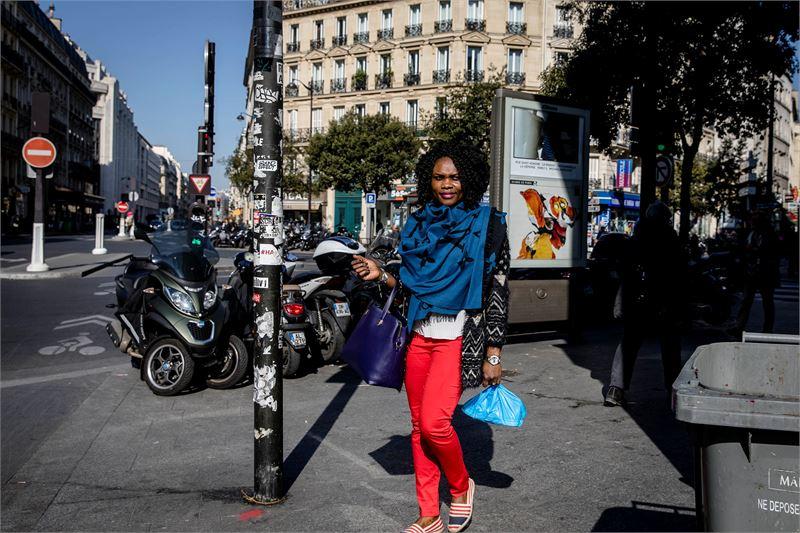 Alice Kameni sanoo olevansa yllättynyt, että juuri poliisit joutuivat terroristien kohteeksi ja vielä Pariisin sydämessä.