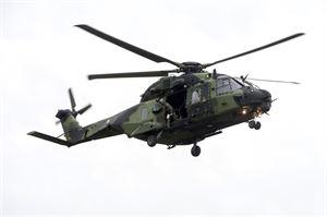 Maavoimilla on käytössään parikymmentä NH90-kuljetushelikopteria. Virka-apupyyntöjä maavoimille on eniten tehnyt poliisi.