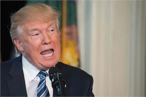Trump isännöi turvallisuusneuvoston jäsenmaiden edustajien vierailua Valkoisessa talossa. LEHTIKUVA/AFP