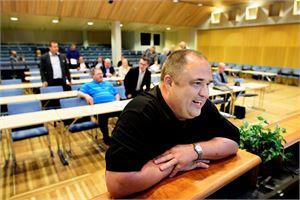 Reino Herlevi toimii Kokkolan kaupunginhallituksen puheenjohtajana.