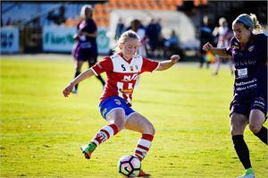 GBK:n Monica Hagström ja kumppanit kohtaavat Suomen cupin puolivälierässä FC Wimman.