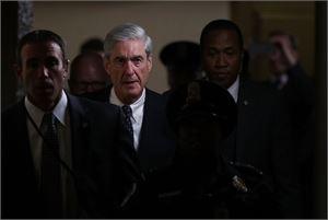 Bloombergin mukaan erikoissyyttäjä Robert Muellerin johtama tutkijaryhmä selvittää liiketoimia, joissa Trump tai hänen liikekumppaninsa ovat olleet mukana. LEHTIKUVA/AFP