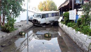 Tänänhetkisten tietojen mukaan Egeanmerellä tapahtuneessa maanjäristyksessä on kuollut kaksi ihmistä. Kuva turkkilaisesta Muglan kaupungista.