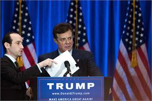 Paul Manafort toimi presidentti Donald Trumpin vaalikampanjan päällikkönä. Manafort erosi tehtävästään elokuussa.  LEHTIKUVA/AFP