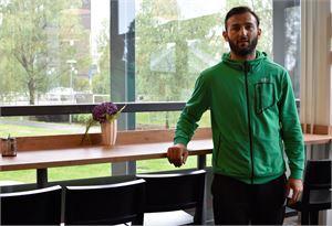 Irakli Sirbiladze palasi Kokkolaan tavoitteenaan auttaa joukkue nousemaan liigaan.