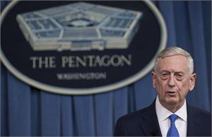 Yhdysvaltain puolustusministeri James Mattis ei usko Abu Bakr al-Baghdadin kuolleen. LEHTIKUVA/AFP