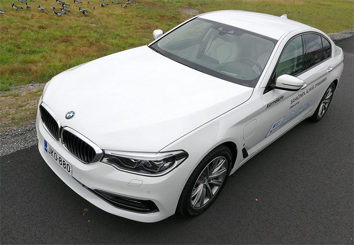 BMW 530 eDrive - Baijerilaiselta hybridi