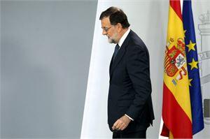Espanjan pääministeri Mariano Rajoy halusi Katalonialta vastauksen tänään. LEHTIKUVA/AFP