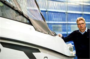 Pienempien veneiden rakentaminen Suomessa ei ole Finn-Marin Oy:n toimitusjohtaja Raimo Kielisen mukaan kannattavaa.