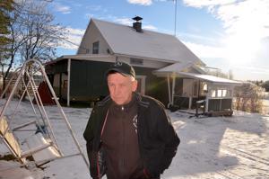 Palattuaan Saukonperälle Eino Hietamäki on kunnostanut kotitalonsa uusiksi.