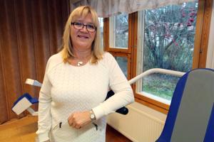 Eija Pahkalan mielestä kuntohoitajan työssä on parasta se, kun näkee oman työnsä tuloksen ja voi auttaa muita.