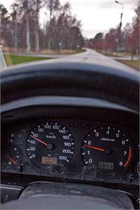 Jos ajat muutaman kilometrin alle nopeusrajoituksen lukeman, noudatat nopeusrajoitusta.