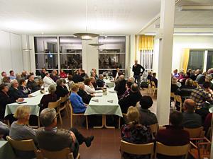 Metsänhoitoyhdistys  Haapavesi-Kärsämäen jäseniltaan Norassa osallistui reilut 150 jäsentä.  MTK:n kenttäpäällikkö Markku Ekdahl kertoi väelle, missä vaikutetaan tällä hetkellä kansainvälisessä metsäpolitiikassa.