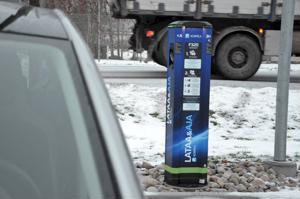 Kannukseen on avattu sähköautojen latauspiste, joka sijaitsee Korpelan Voiman pääkonttorin piha-alueella.