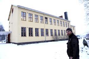 Andreas Nyman on Småböndersin vanhempainyhdistyksen rahastonhoitaja ja aktiivisesti mukana suunnittelemassa kotikoulua.