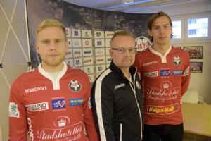 Valmentaja Tomi Kärkkäinen saa ensi kauden rinkiinsä Thomas Kulan ja Kim Bölingin. Maalivaihti Emil Öhberg ei ollut paikalla, koska hän lomailee Thaimaassa.