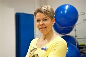 Carita Gustafsson-Tuhkusen sydäntä lähellä on erityisesti liikunta ja terveellinen ravitsemus.