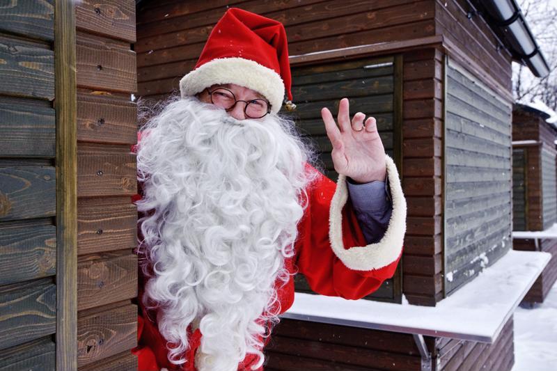 Joulupukilla riittää lähipäivinä kiireitä.