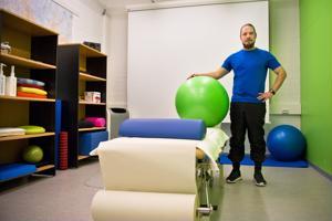 Jami Peltoniemi kokee fysioterapiayrittäjänä olevansa unelma-ammatissaan.