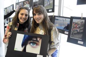 Kansainvälisen Erasmus+-projektissa mukana oleva Ceccarelli Elettra otti kuvan Giulia Bernardin kauniista silmästä.