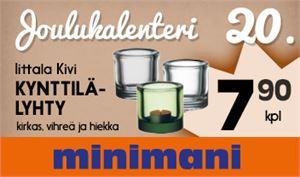 Kokkolan Minimanille BIG24-digiscreen on merkittävä mainoskanava.