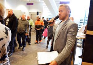 Rekrykohtaamo -tapahtuman juonsi kuuluisa mediapersoona Lauri Salovaara.