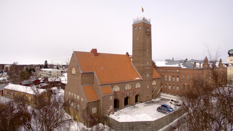 7. Vanha palokunnantalo.