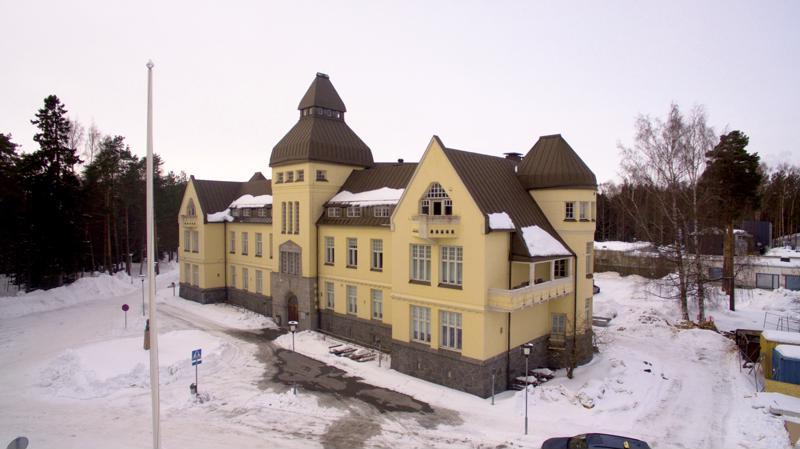 11. Malmin vanha sairaala.