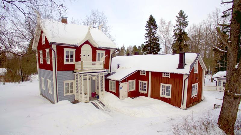 12. Villa Sveden, taiteilijakoti ja taidekahvila.