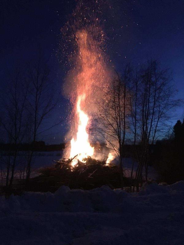 Pajuojan kokko Köyhäjoella.