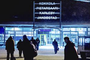 Kokkola-Pietarsaaren lentoasemalla sattui uhkaava vaaratilanne maaliskuun lopulla.