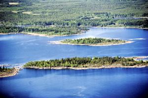 Perustettavista luonnonsuojelualueista 32 000 hehtaaria on merenrannikon vesialueita, joita on muun muassa Kokkolan saaristossa (kuvassa).