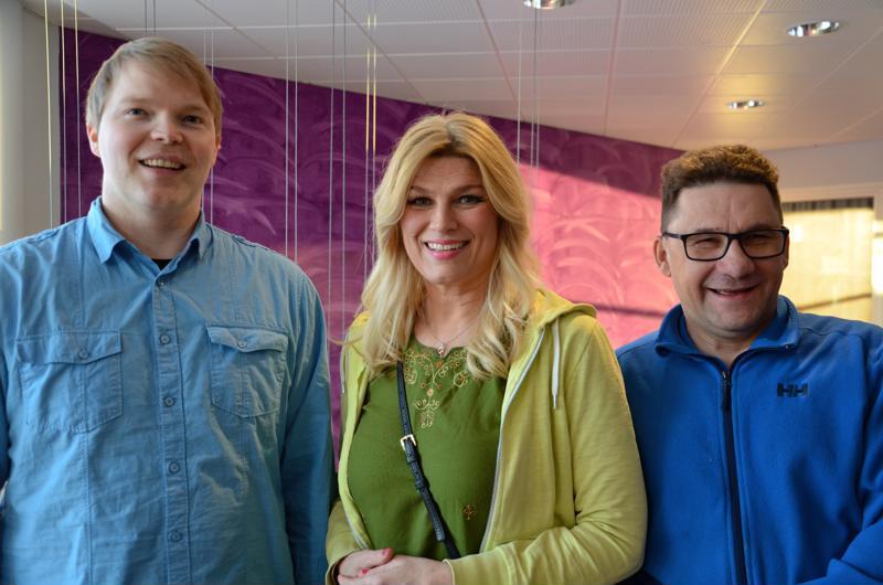 Janne Nietula, Anna-Maria Sirviö, Arto Lukkari