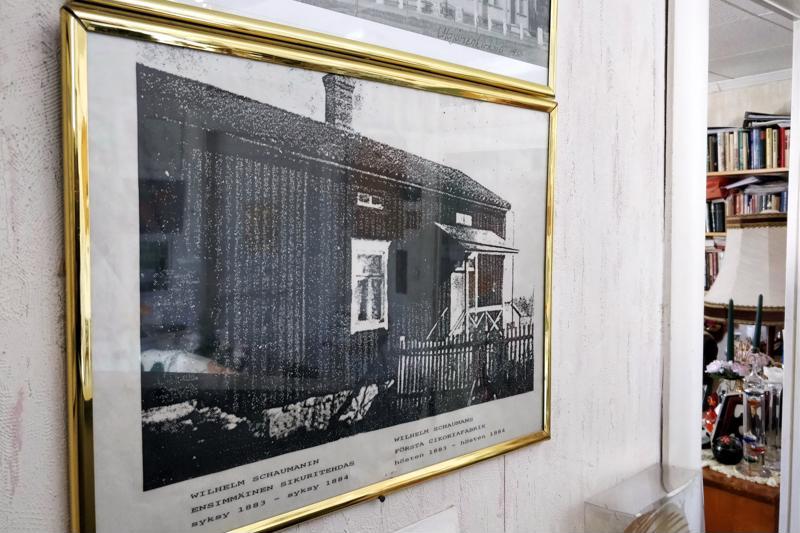 Sikuritehdas toimi talossa vuosina 1883-1884.