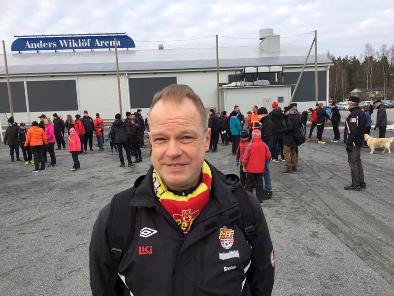 Halliyhtiön puheenjohtaja Stefan Olli toivoo, että David Pettersson vetää valituksensa pois hallinto-oikeudesta.