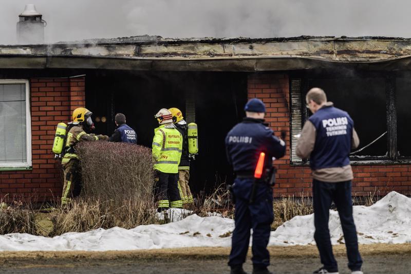 Rivitalon syttymissyytä ovat tutkineet Kälviällä pelastuslaitos ja poliisi.