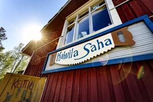 Kahvila Sahan tulevaisuudessa paistaa taas aurinko.