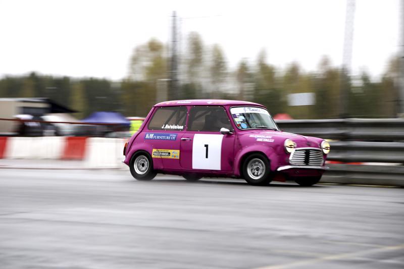 Jani Hotakainen voitti mini1000-luokan viime vuonna Historic Racen Kemoran osakilpailussa.