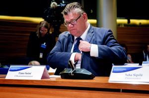 Ulkoministeri Timo Soini piti tapaamisessaan Saksan ulkoministerin kanssa esille turvallisuusyhteistyötä Itämeren alueella. Arkistokuva.
