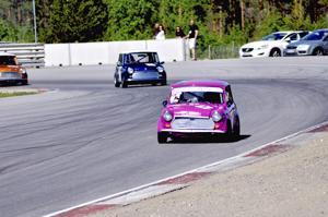 Ari-Pekka Lassila ajoi sunnuntain mini1000-kisan kärjessä lähes koko kisan ajan.