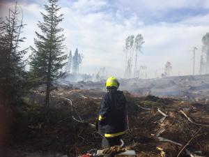 Metsäkoneesta lähtenyt kipinä on aiheuttanut uhkaavia tulipaloja eri puolilla maata. Viikonloppuna metsäpaloa sammutettiin muun muassa Kalajoella.