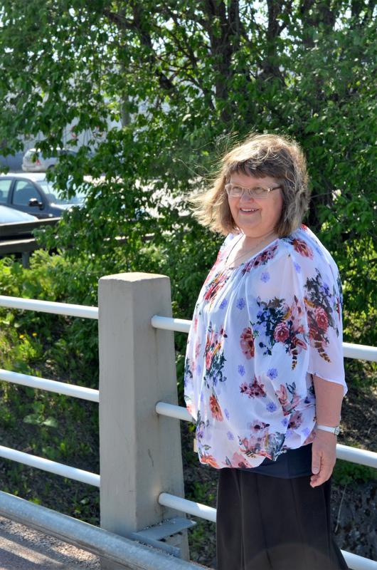 Arja Nevanperä on erityisen kiinnostunut paikallishistoriasta.