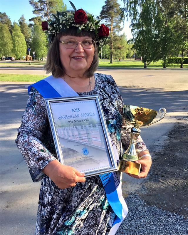 Paikallishistoria on lähellä Arja Nevanperän sydäntä.