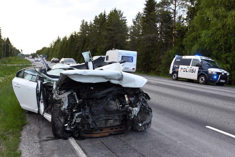 Onnettomuus Kalajoki