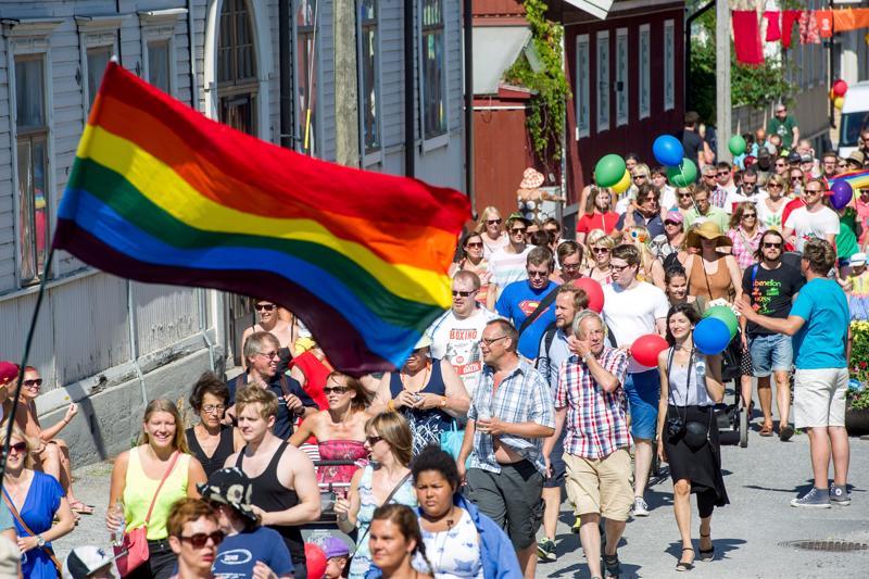 Jeppis Pride järjestettiin Pietarsaaressa heinäkuussa 2014.