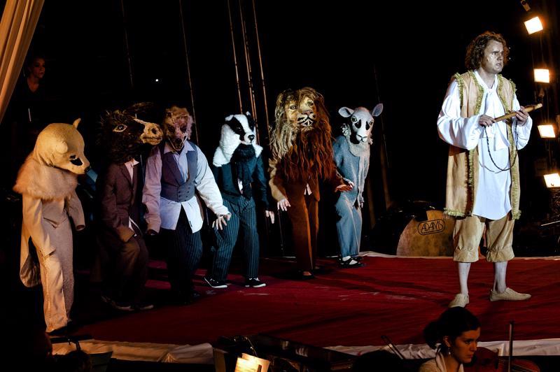 Vuonna 2011 Kokkolan Oopperakesässä nähtiin Mozartin Taikahuilu.