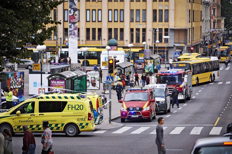 Joukkopuukotus tapahtui Turussa 18. elokuuta viime vuonna.