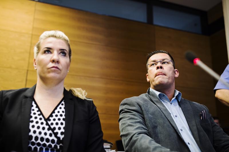 Helsingin käräjäoikeuden suunnitelmissa oli kuulla torstaina MV:n toiminnasta syytettyä Ilja Janitskinia (kuvassa) ja Johan Bäckmania. Heidän kuulemisensa siirtyi kuitenkin ensi viikolle.